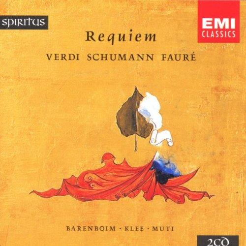 Requiems: Verdi Schumann Faure