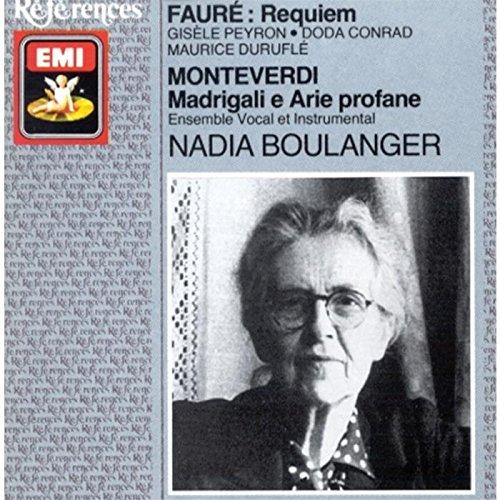 Fauré/Monteverdi: Vocal Works