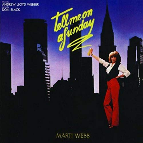Tell Me On a Sunday By Marti Webb