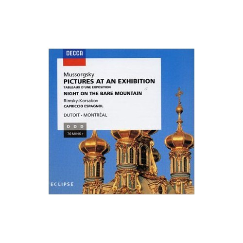 Modest Mussorgsky - Pictures at An Exhibition (Montreal So/Dutoit)