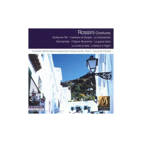 Rossini - Overtures - Previtali By Rossini