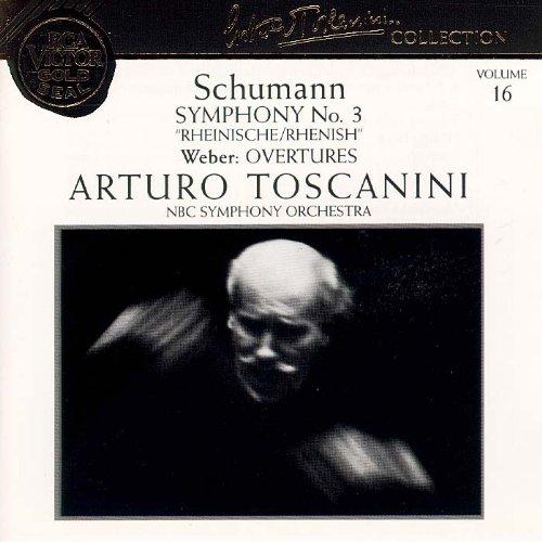 Schumann: Symphony 3; Weber: Overtures