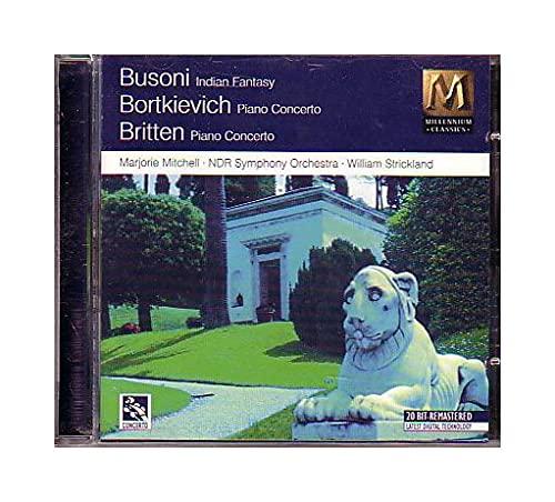 Britten - Indian Fantasy & Piano Ctos.