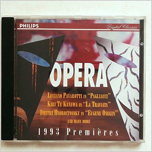 GRUBEROVA EDITA (soprano) - Faszination Oper: Premieren 1993