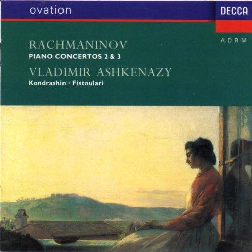 Ashkenazy - Rachmaninov: Piano Concertos Nos 2 & 3 /Ashkenazy ,Kondrashin , By Ashkenazy