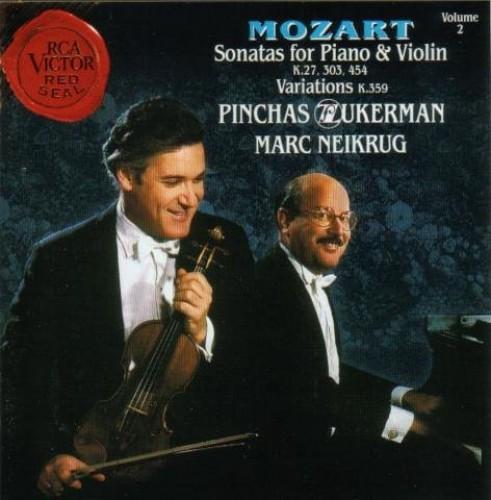 Marc Neikrug - Sonate für Klavier und Violine KV 454 B-Dur By Marc Neikrug