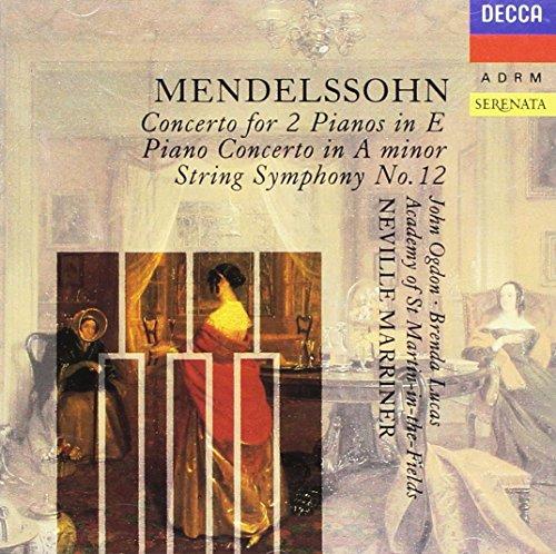 Mendelssohn: Piano Concertos/String Symphony