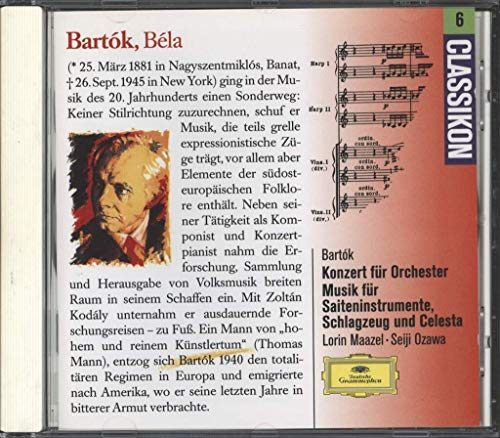 Bartok - Bartok:Conc for Orch