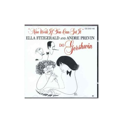 Ella Fitzgerald and Andre Previn - Nice Work If You Can Get It