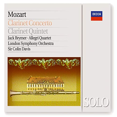 The Allegri String Quartet - Mozart: Clarinet Concerto / Clarinet Quintet By The Allegri String Quartet