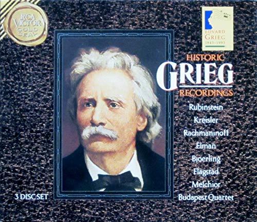 Various - Historic Grieg Recordings
