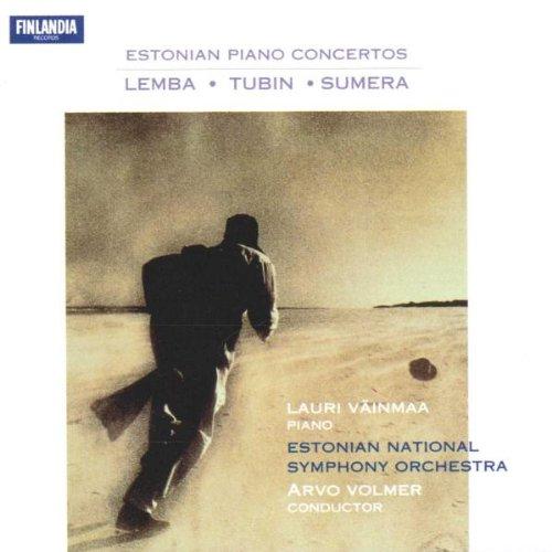 Vainmaa/Estonian So/Volmer - Estonian Piano Concertos By Vainmaa/Estonian So/Volmer