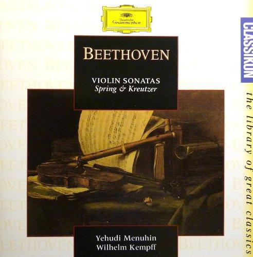 "Wilhelm Kempff - Beethoven: Violin Sonatas 5 ""Spring"", 9 ""Kreutzer"""