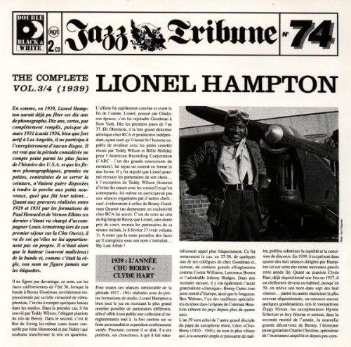 Lionel Hampton - The Complete/... Vol.3/4 (2cd)