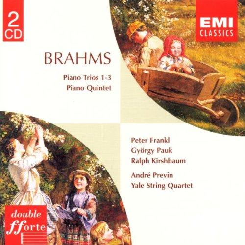 Yale Quartet - Brahms - Piano Trios Nos 1-3 By Yale Quartet