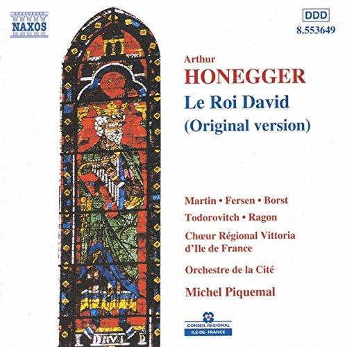 Honegger: Le Roi David  (original version)