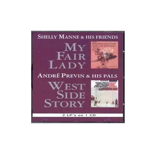 Shelly Manne and His Friends - My Fair Lady/West Side Story By Shelly Manne and His Friends