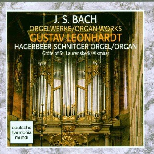 Gustav Leonhardt - Bach: Organ Works