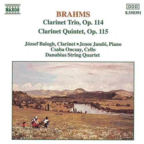 Brahms, J. - Clarinet Trio, Quintet By Brahms, J.