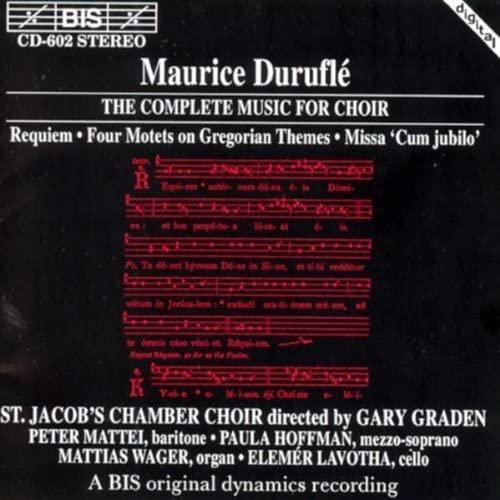 St Jacob's Chamber Choir - Duruflé: The Complete Music for Choir