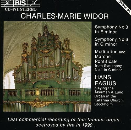 Widor - Organ Symphonies