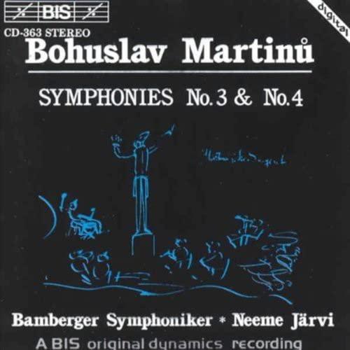 Bohuslav Martinu - Martinu Symphonies Nos. 3 and 4