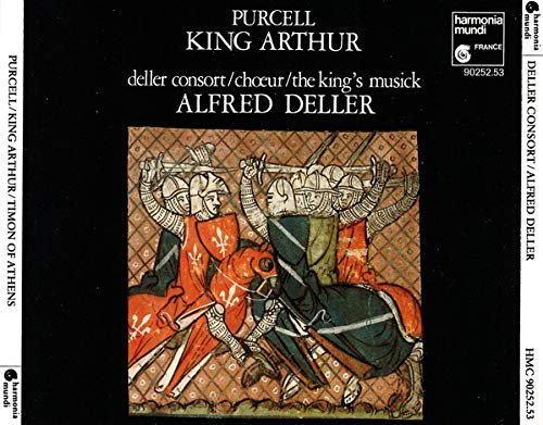 Alfred Deller - Purcell: King Arthur - Timon of Athens By Alfred Deller