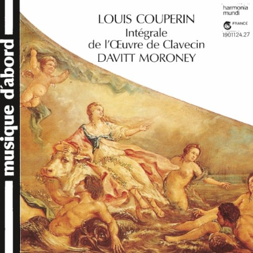 Pere Moroney - Louis Couperin: Complete Works for Harpsichord (Integrale de l'Oeuvre de Clavecin) By Pere Moroney