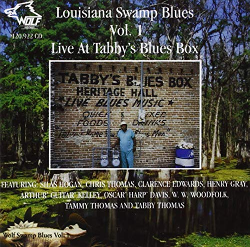 Various Artists - Louisiana Swamp Blues Vol. 1 By Various Artists