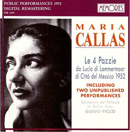 Callas - Callas - Le 4 Pazzie da Lucia