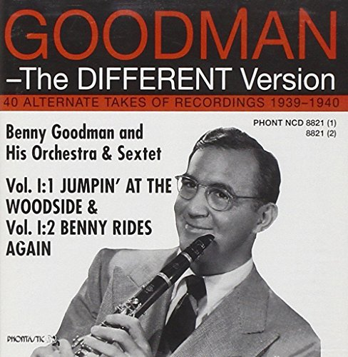 Benny Goodman - The Different Version - Vol. 1:1 & 1:2 (2CD) By Benny Goodman