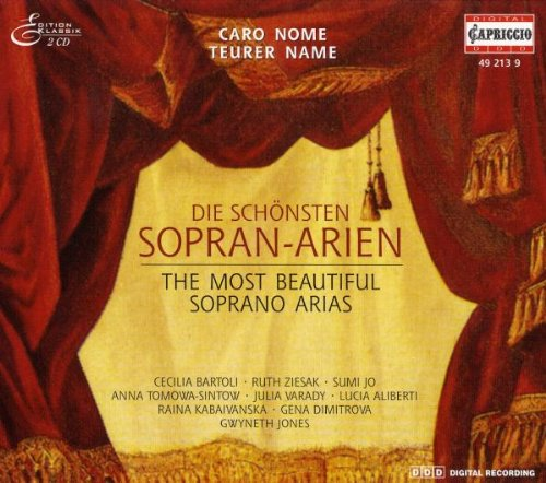 Various Composers - The Most Beautiful Soprano Arias By Various Composers