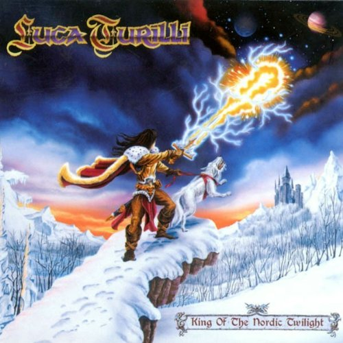 Luca Turilli - King Of The Nordic Twilight - Luca Turilli CD 91VG FREE Shipping