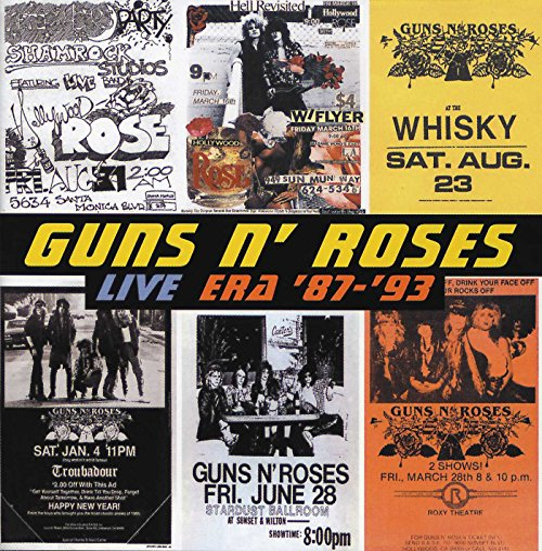 Live Era '87-'93 By Guns N' Roses