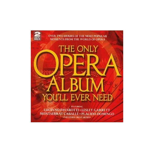 THE ONLY OPERA ALBUM YOU'LL EVER NEED By Luciano Pavarotti