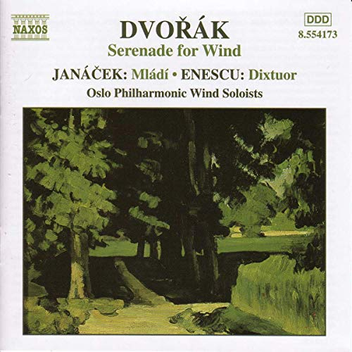 George Enescu - Music for Wind Ensembles - Dvorák, Janácek and Enescu