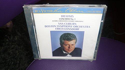 Van Cliburn - Brahms - Piano Concerto No 1; Handel Variations