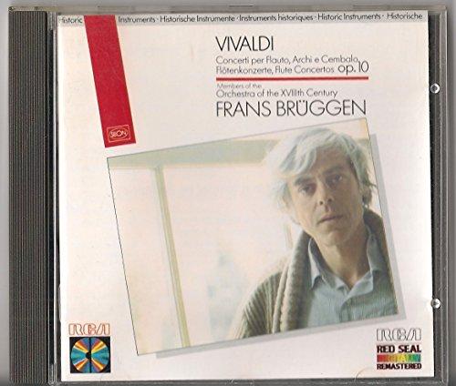 Vivaldi: Concerti Per Flauto, Archi E Cembalo / Flötenkonzerte / Flute Concertos, Op. 10