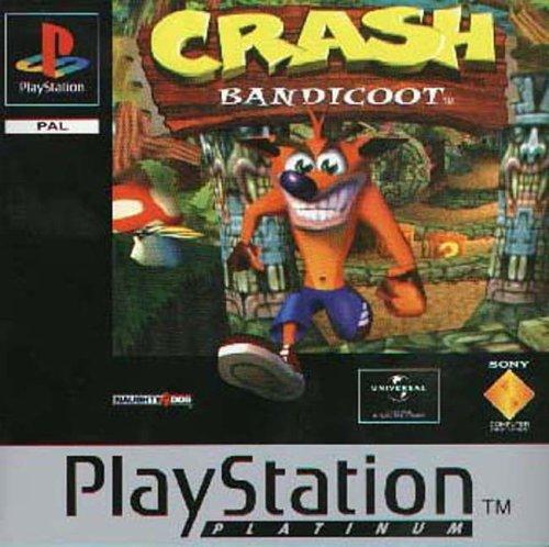 Sony Playstation - Crash Bandicoot - Platinum (PS)