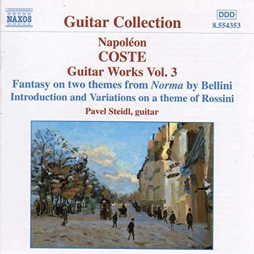 Coste - Guitar Works, Vol. 3