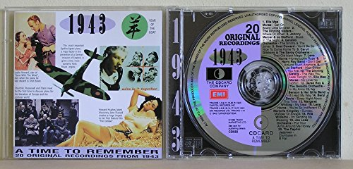 Various - Time to Remember 1943 By Various