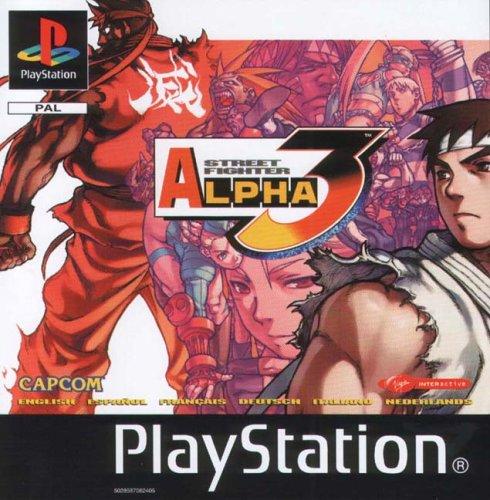 Sony Playstation - Street Fighter: Alpha 3 (PS)