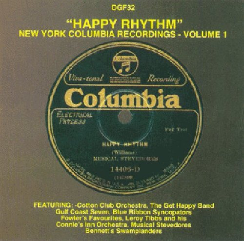 Various - Happy Rhythm New York Columbia Records Vol 1