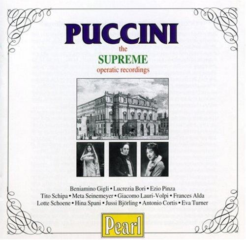 Puccini: Supreme Operatic Recordings