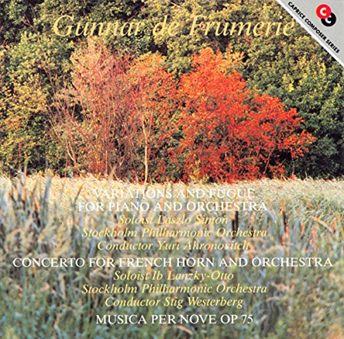 Variations for Piano & Orchestra / French Horn Concerto