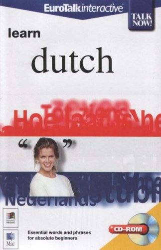 Talk Now! Learn Dutch By EuroTalk Ltd.