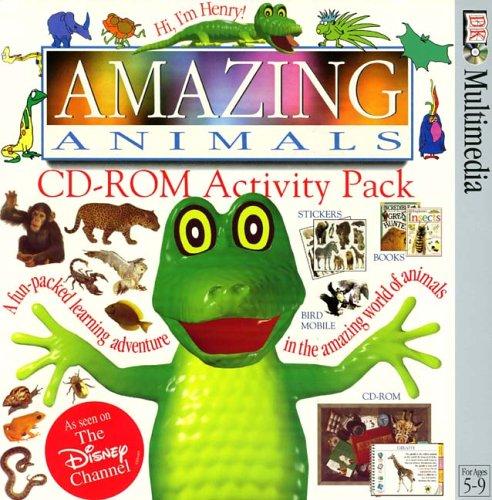 CD-ROM:  Amazing Animals (Dual Version)