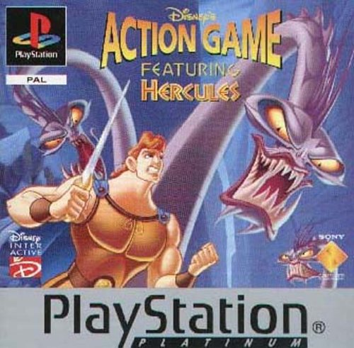 Sony Playstation - Hercules Action Game - Platinum