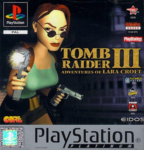Sony Playstation - Tomb Raider III Platinum (PSone)