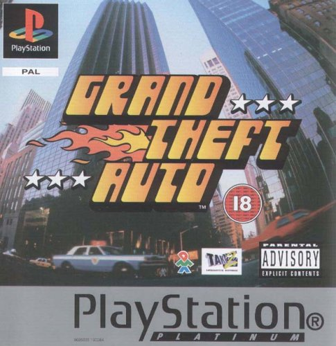 Sony Playstation - Grand Theft Auto Platinum